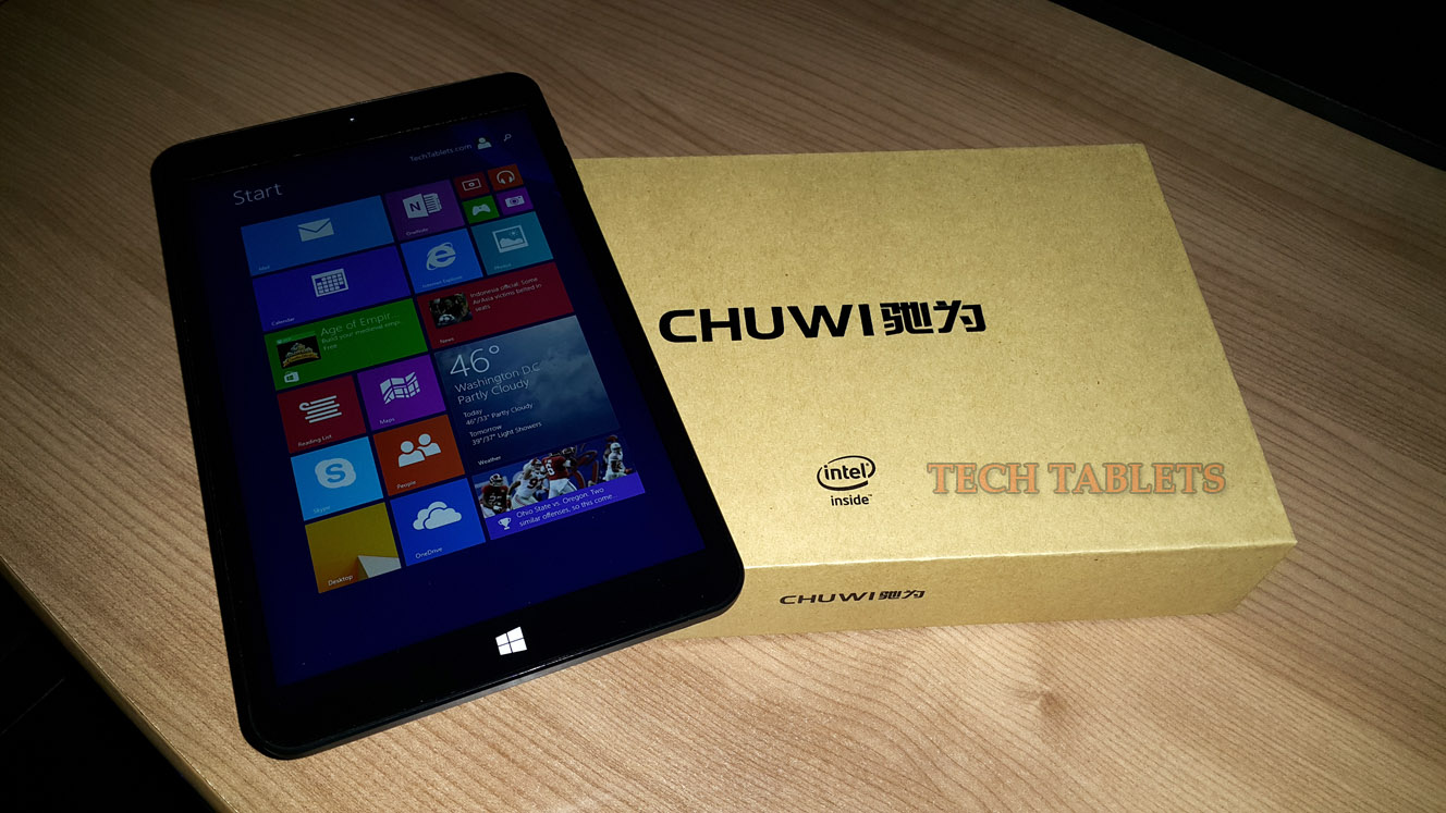 Chuwi Vi8 Review - Feature packed Dual OS Tablet for cheap
