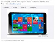 Chuwi Vi8 to get Android/Win 8.1 dual boot