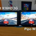 PiPo W3F Vs Teclast X16HD 3G Comparison, Specs and Price