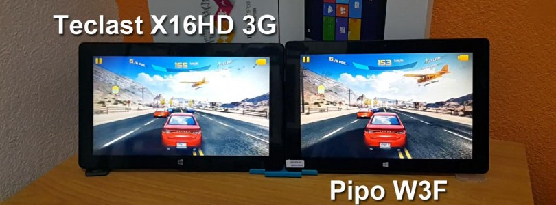 PiPo W3F Vs Teclast X16HD 3G Comparison, Specs and Price