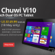 Chwui Vi10 Dual Boot On Sale For $149 Today Only.