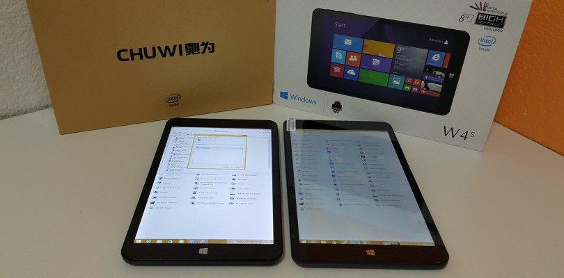 PiPo W4S Vs Chuwi Vi8 comparison. Which is better?