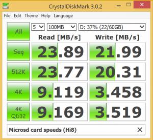 Chuwi Hi8 microsd port speeds