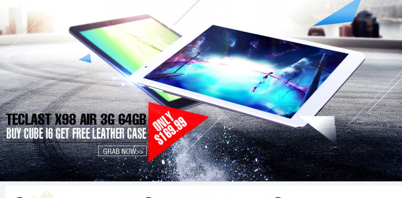Tablet Deals: X98 Air 3G 64GB $229 and Chuwi Vi10 for $144