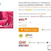 Daily Deals: Chuwi Hi8 $93, PiPo X8 $103 and Teclast X98 Air 3G 64GB $201