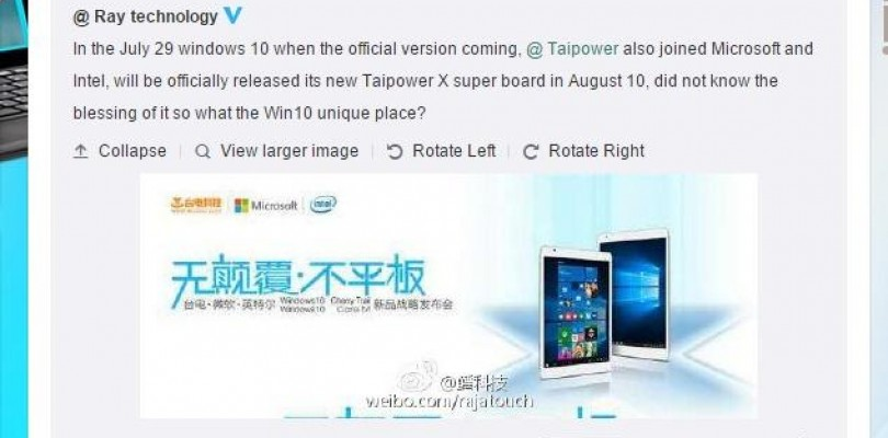 Teclast 9.7″ Retina Core M And Cherry Trail Tablets Coming soon
