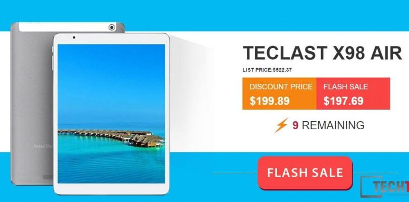 Daily Deals: Teclast X98 Air 3G 64GB $195 & Air II 64GB $193