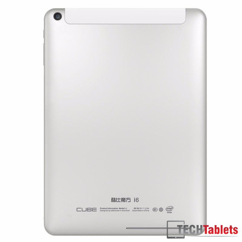 Cube i6 Dual OS Windows 10 Android 4.4.4 White - 1