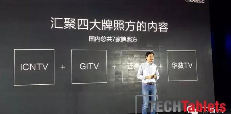 No Xiaomi Mi Pad 2 announced today, just a 4k TV…
