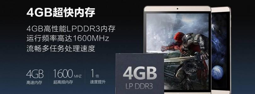Onda v919 Air CH 9.7″ Atom X5 Z8500 Cherry Trail Released