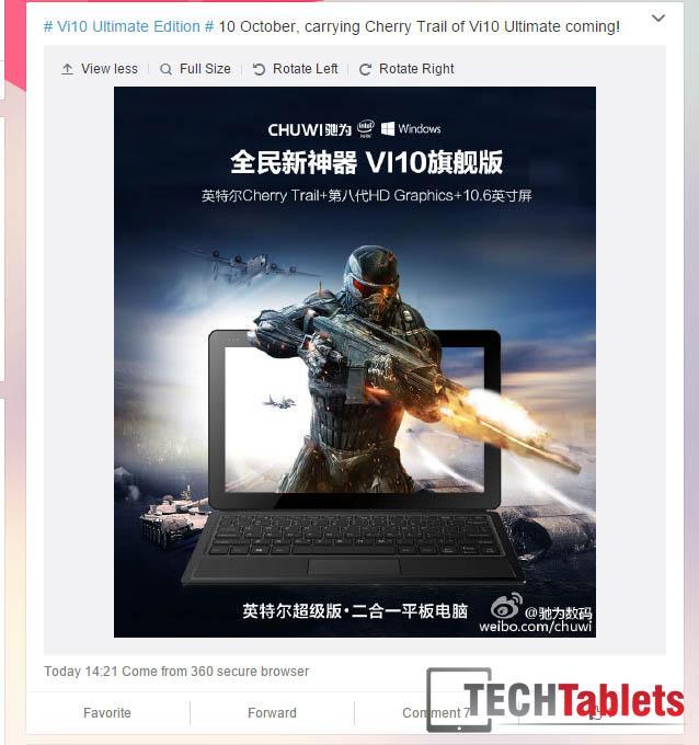 Chuwi Vi10 Ultimate Edition