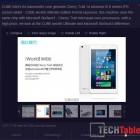 Cube iWork8 Cherry Trail Atom X5 Z8300 announced