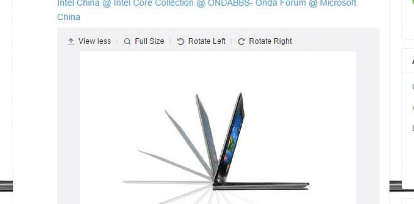 Onda's V919 Air CH to Release 14th Plus new 11″ Notebook.
