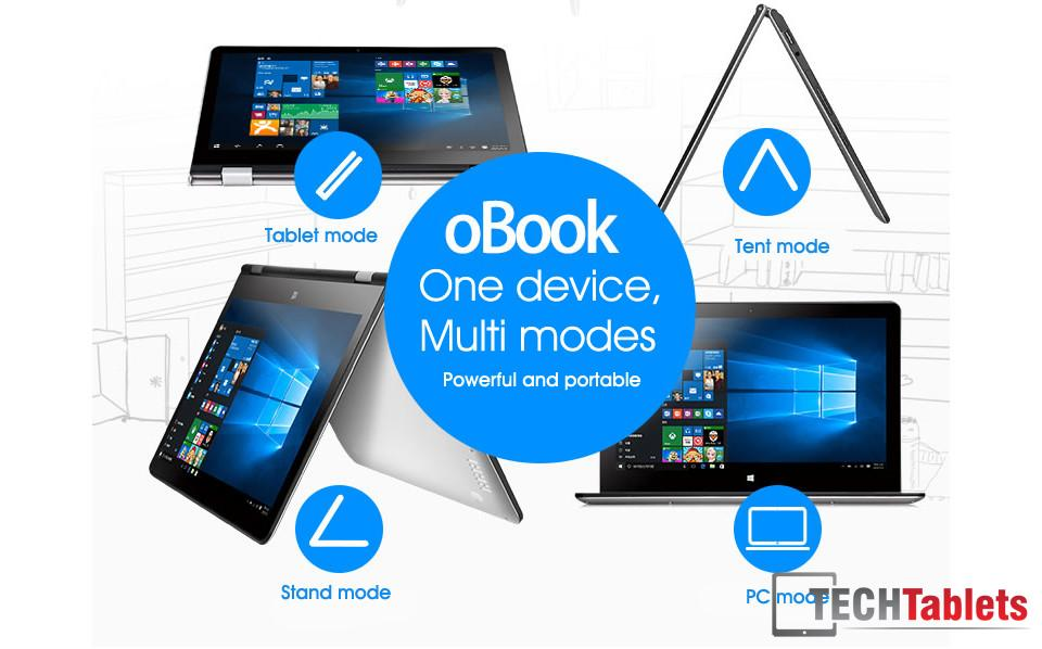 Onda oBook Cherry Trail Notebook 1