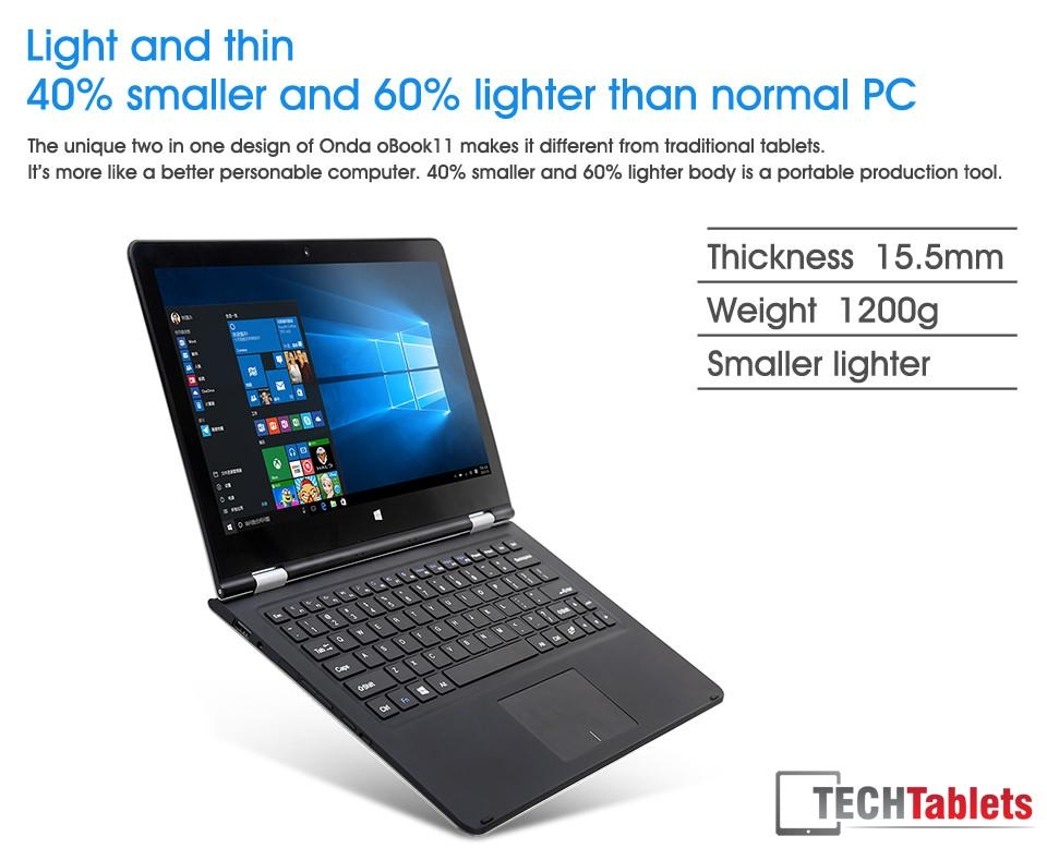 Onda oBook Cherry Trail Notebook 9