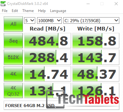X2 Pro SSD speeds