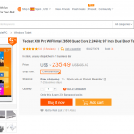 Teclast X98 Pro Dual OS In Stock At Banggood For $235
