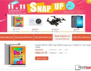 11.11 Teclast X98 Pro $115 Snap Up Sale