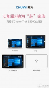 Chuwi tease a fourth tablet release is in the works.