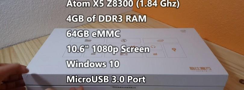 Cube iwork11 Stylus X5 Z8300 Hands On & First Impressions