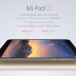 Daily Deals: Xiaomi Mi Pad 2 $193 & Redmi Note 3 $193