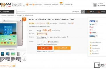 Deals: Teclast X98 Air 3G 64GB for $171