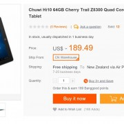Chuwi Hi10 In Stock At BG for $169.25 With Coupon