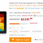 Daily Deals: Chuwi Vi10 $119, Onda M2 $182, Beelink 4K Media Player