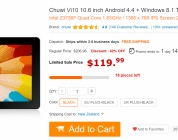 Daily Deals: Chuwi Vi10 $119, Onda M2 $182, Beelink 4K Media Player