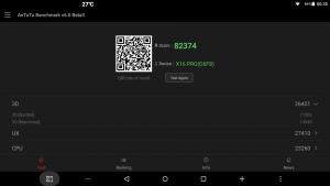 Teclast X16 Pro Antutu 6 beta score.