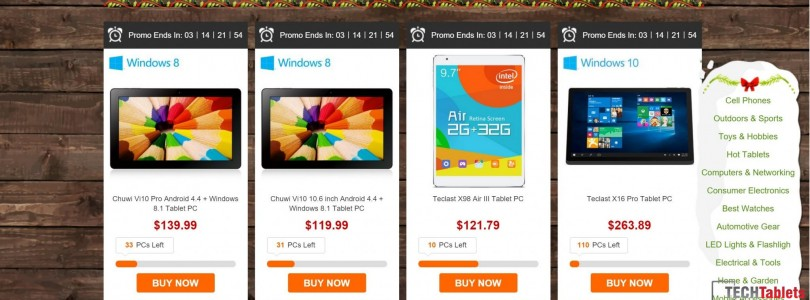Deals: GearBest Christmas Snap Up Sale