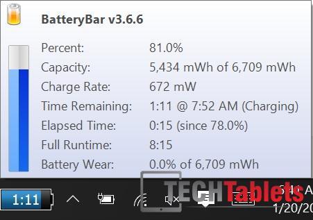 Chuwi Hi10 charging