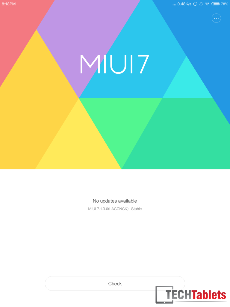 MIUI 7.1.2 was the version available at the time of this review.