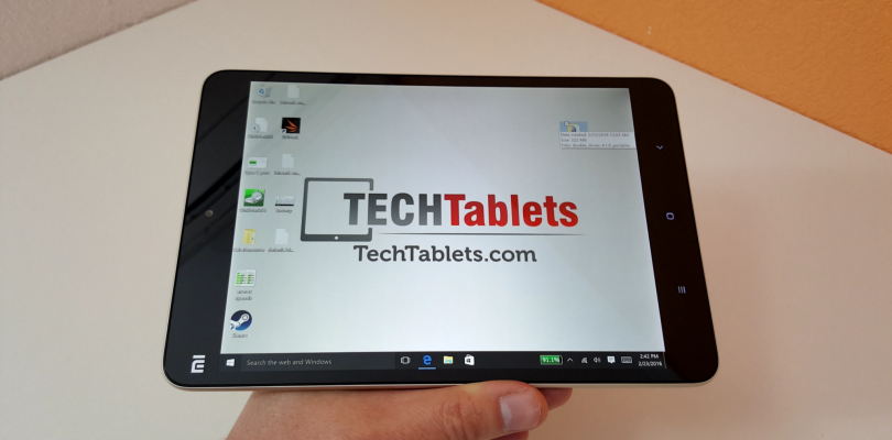 Xiaomi Mi Pad 2 Windows Unboxing and First impressions