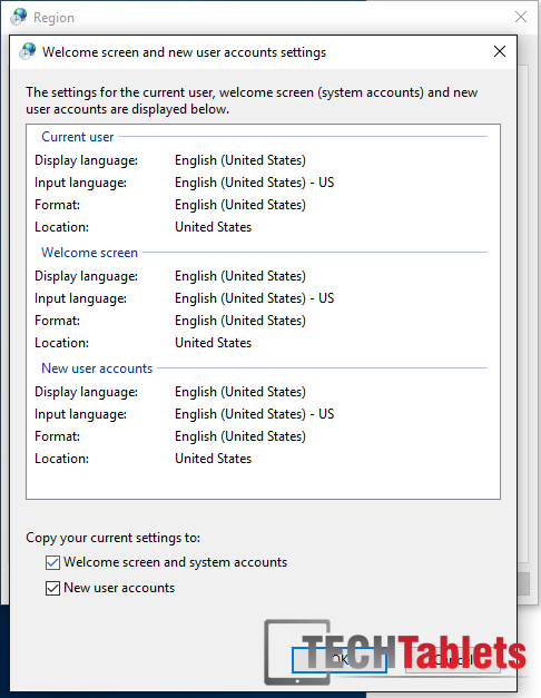 Change region settings to remove Chinese on boot and shutdown.