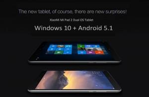 Xiaomi Mi Pad 2 Dual OS