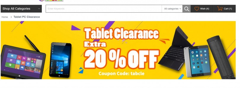 Daily Deals: 20% Off Cube i7 Stylus $285 & Mi Pad 2 $164