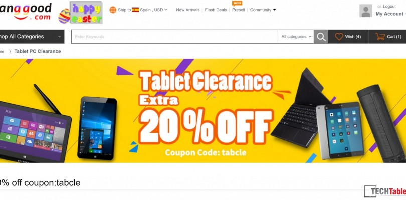 Daily Deals: 20% Off Cube i7 Stylus $285 & Mi Pad 2 $164