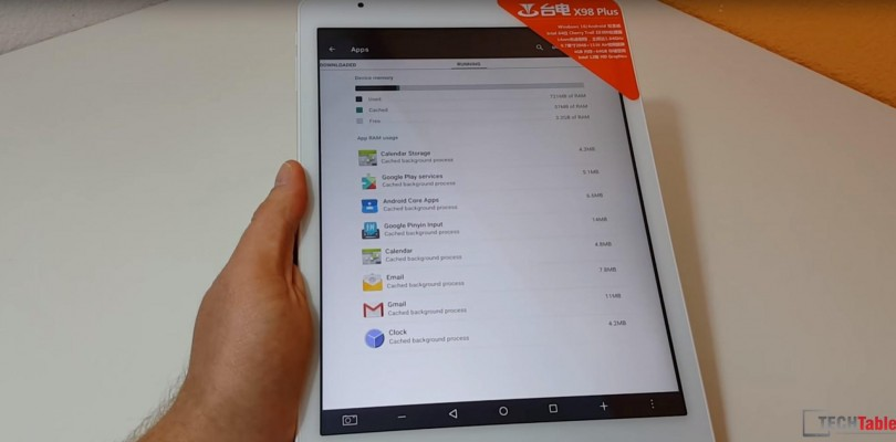 Teclast X98 Plus Dual OS Android Review Video