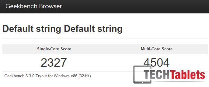 geekbench 3 score Cube i9