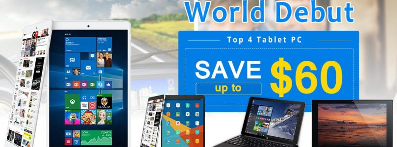 Deals: Teclast Banggood Sale, up to $60 off