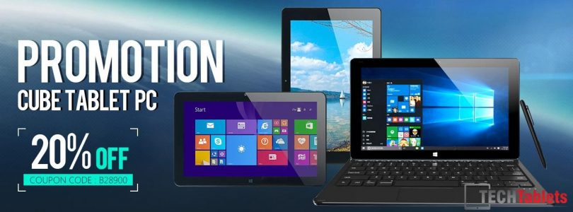 Deals: Cube 20% Off Sale. Core M i7 Stylus For $276 & i7 Book $333