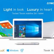 Teclast TBook 16 Pro 2-in1 11.6″ Dual OS tablet