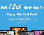 Chuwi's 12th Anniversary Sale At Banggood