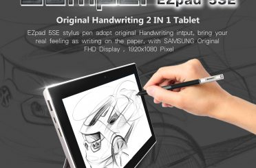 Jumper EZPad 5SE 2-in1 Surface 3 Style Tablet with Stylus