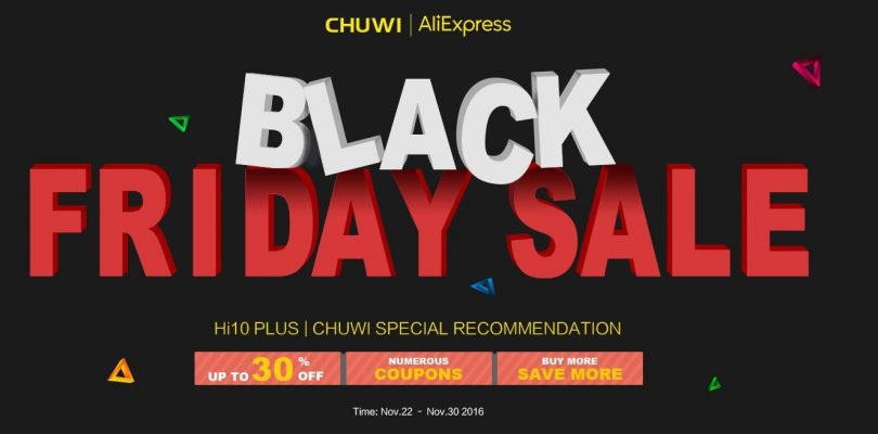 Deals: Big Black Friday Chuwi Sale On Aliexpress