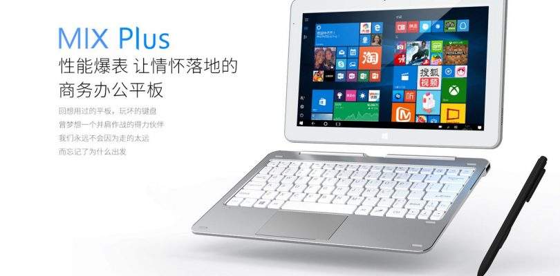 Cube Mix Plus – Core M3-7Y30 Powered i7 Book Successor