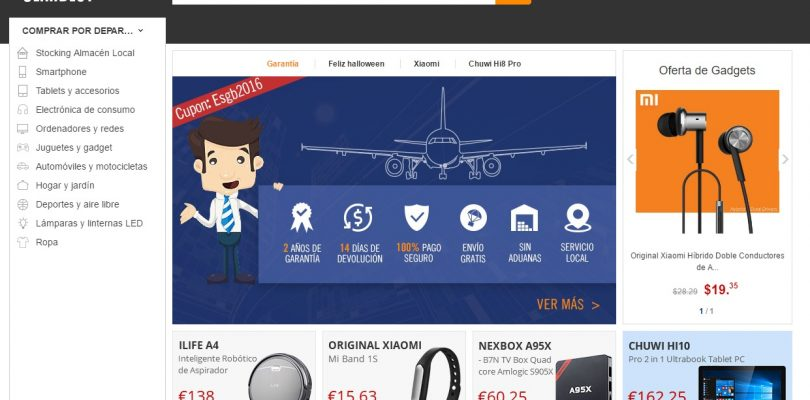 GearBest Spanish Website Now Online