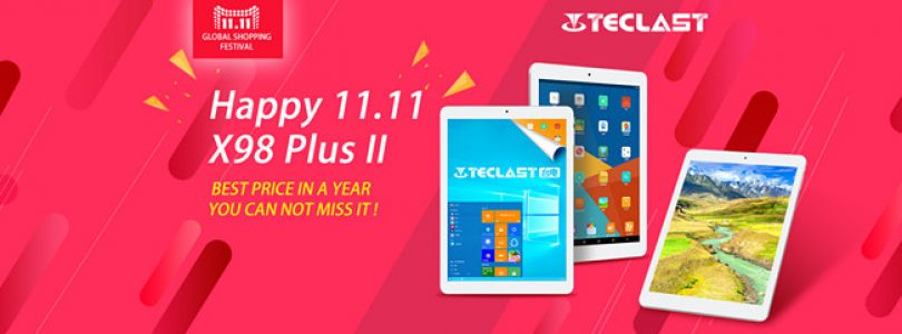 Teclast 11.11 Sale. X98 Plus II Dual OS Retina For $145
