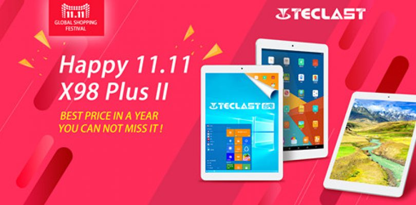 Teclast 11.11 Sale. X98 Plus II Dual OS Retina For $145